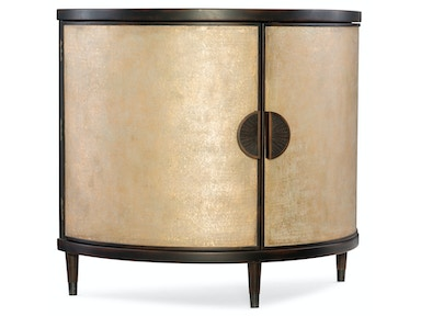 Hooker Furniture Melange Em Demilune Accent Chest 638-85314-GLD