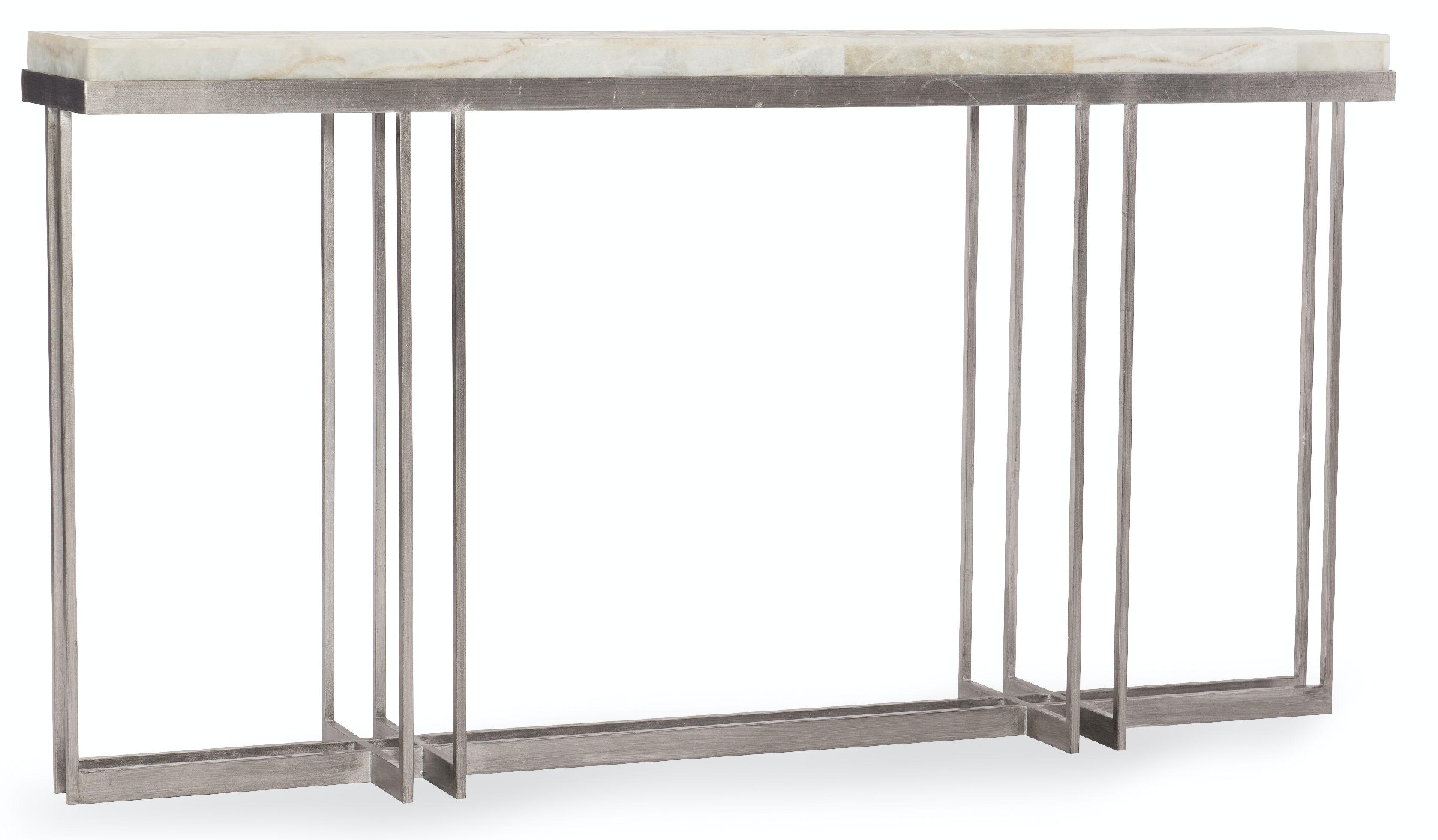 Melange Blaire Console Table 638-85327-WH