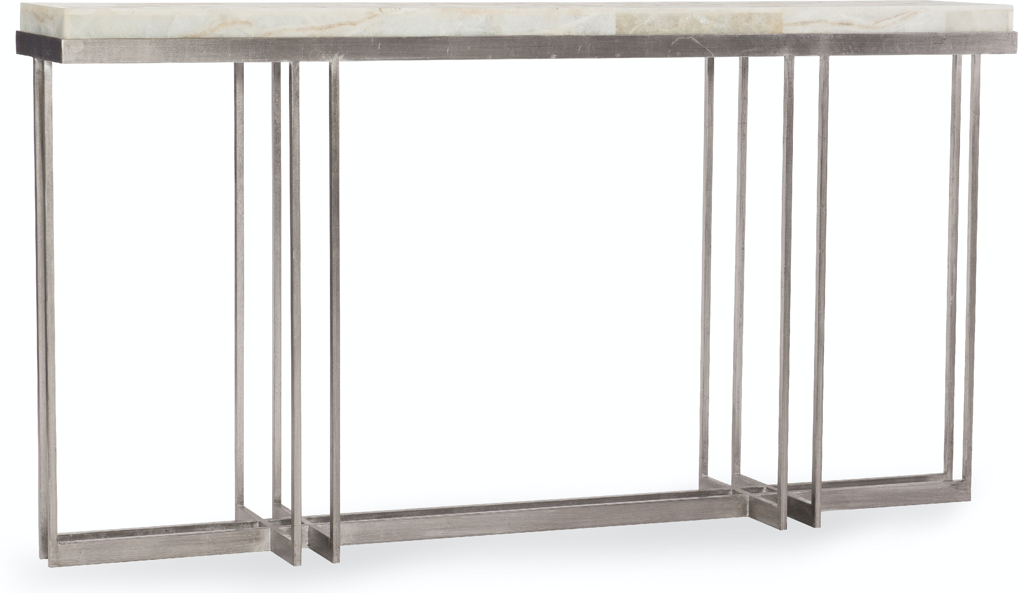 Hooker Furniture Living Room Melange Blaire Console Table 638 85327 Wh