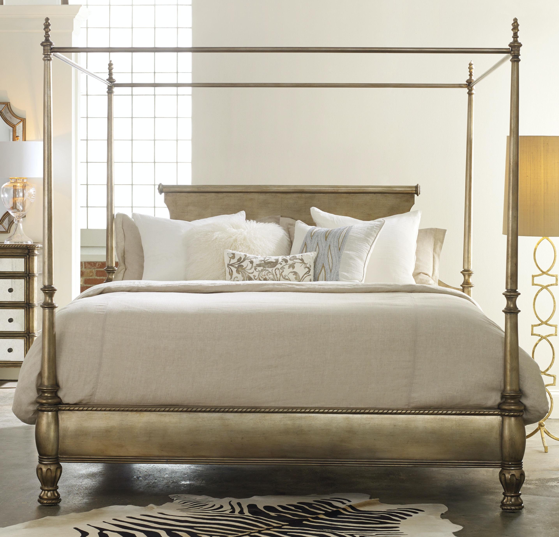 Hooker Furniture Bedroom Montage King Poster Bed 638 90966