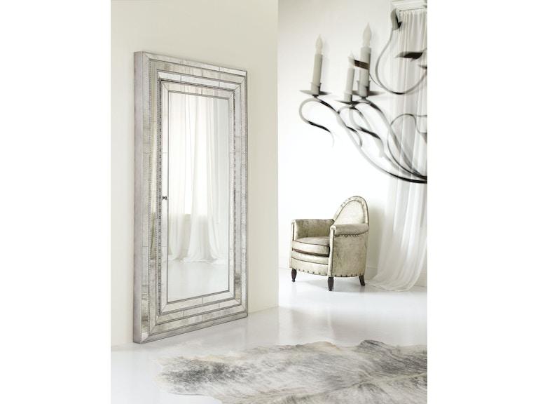 Hooker Furniture 638-50012 Accessories Melange Glamour Floor Mirror ...