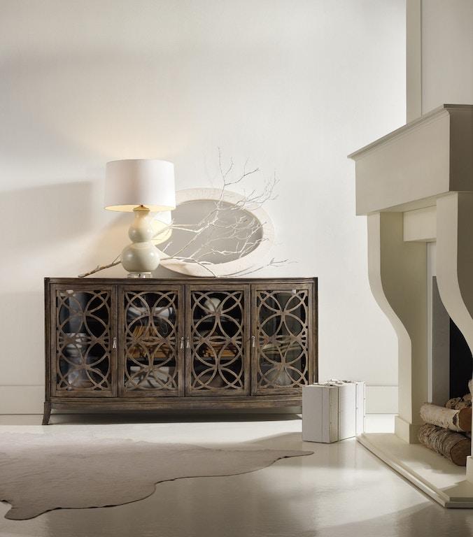 Hooker Furniture Home Entertainment Melange Sloan Console