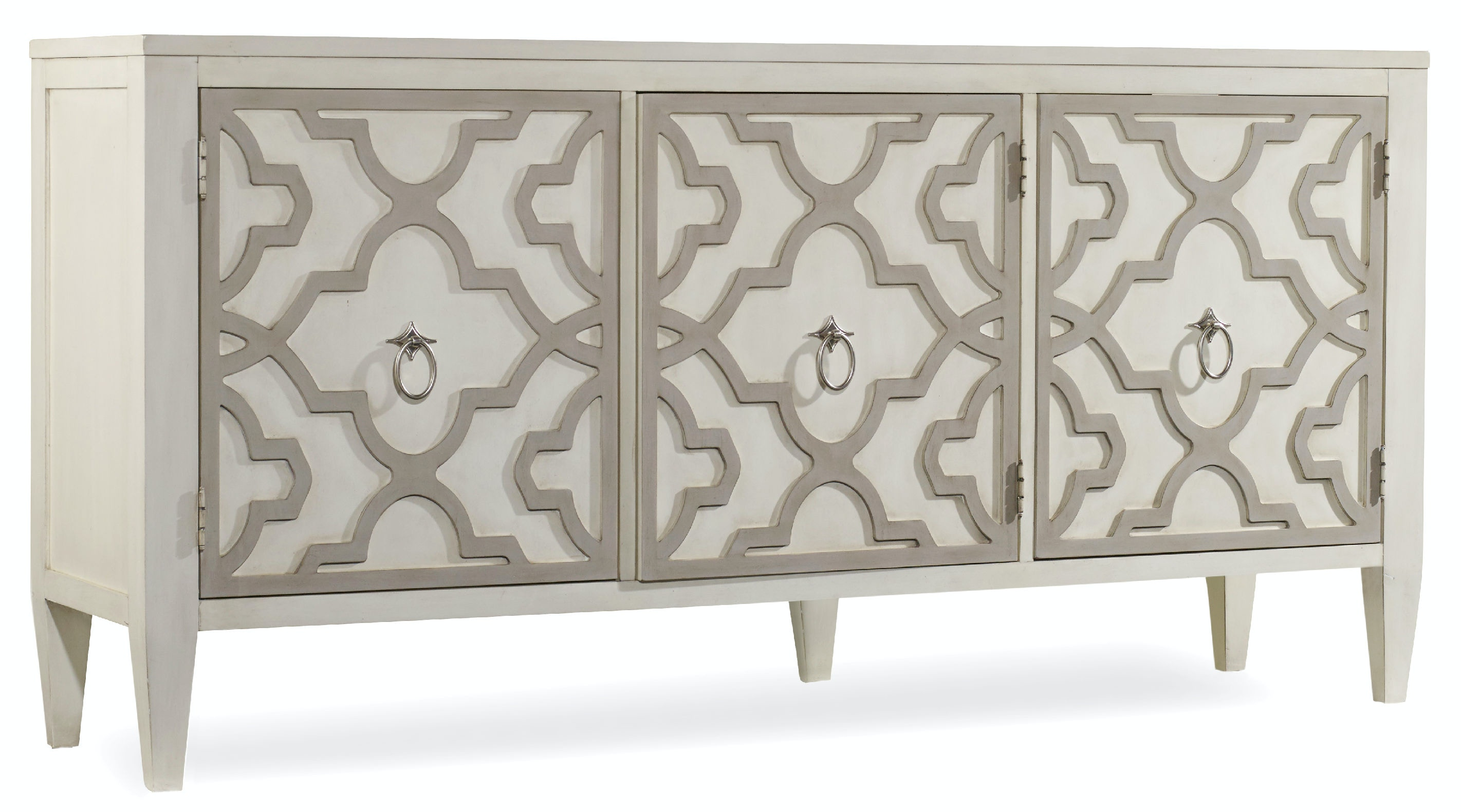Hooker Furniture Melange Miranda Credenza 638 85189Livingston Furniture   Tampa Fine Furniture and AccessoriesHooker  . Livingston Furniture. Home Design Ideas