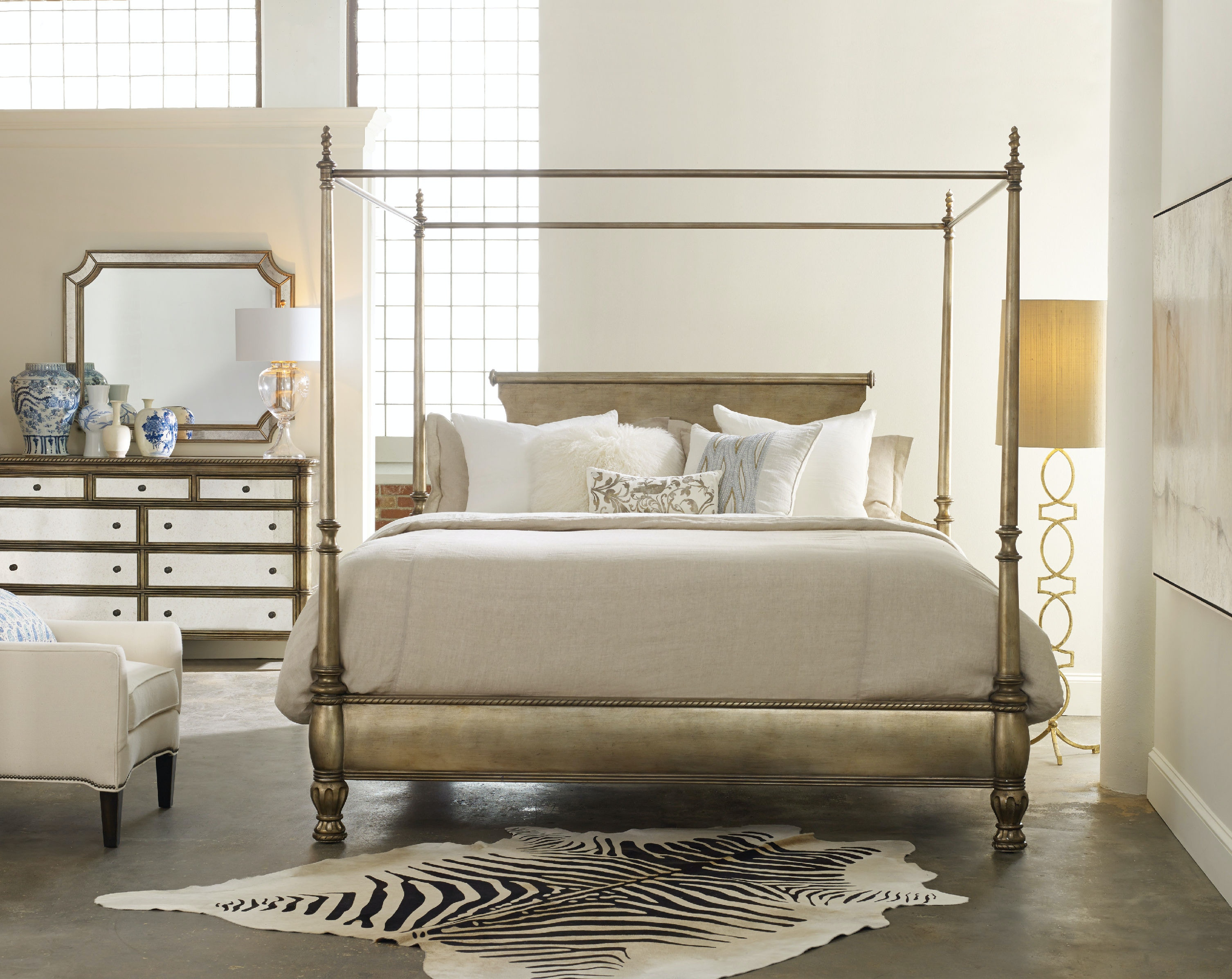 Hooker Furniture Bedroom Montage King Canopy 638 90970 Gorman S
