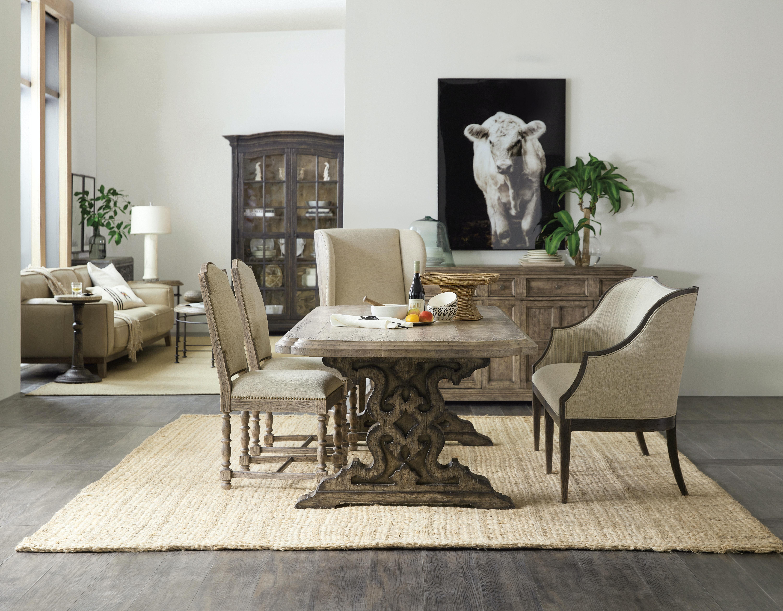Hooker Furniture Dining Room La Grange Le Vieux Pedestal ...