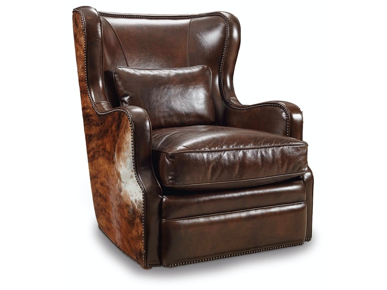 Hooker Furniture Wellington Swivel Club Chair CC418-SW-086