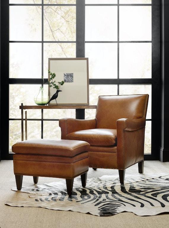 Hooker Furniture Living Room Jilian Ottoman Cc419 Ot 085