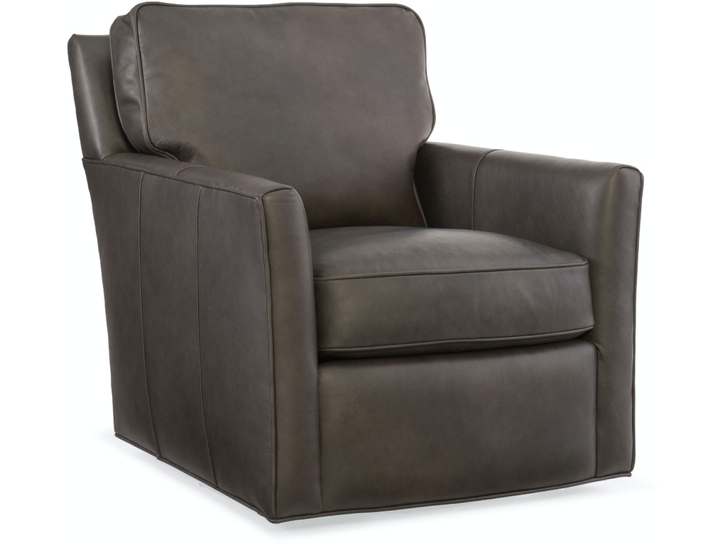 Hooker Furniture Living Room Mandy Swivel Club Chair Cc434 Sw 079 Hickory Furniture Mart