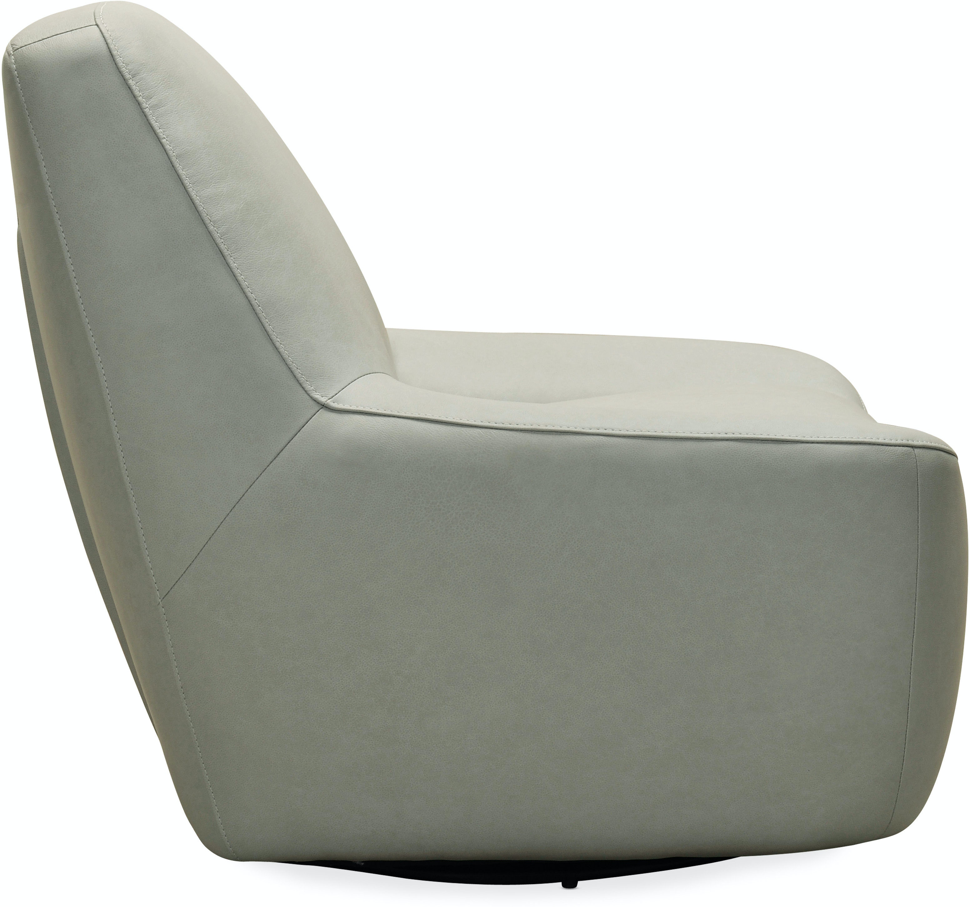 Furniture Living Room Maneuver Leather Swivel Chair