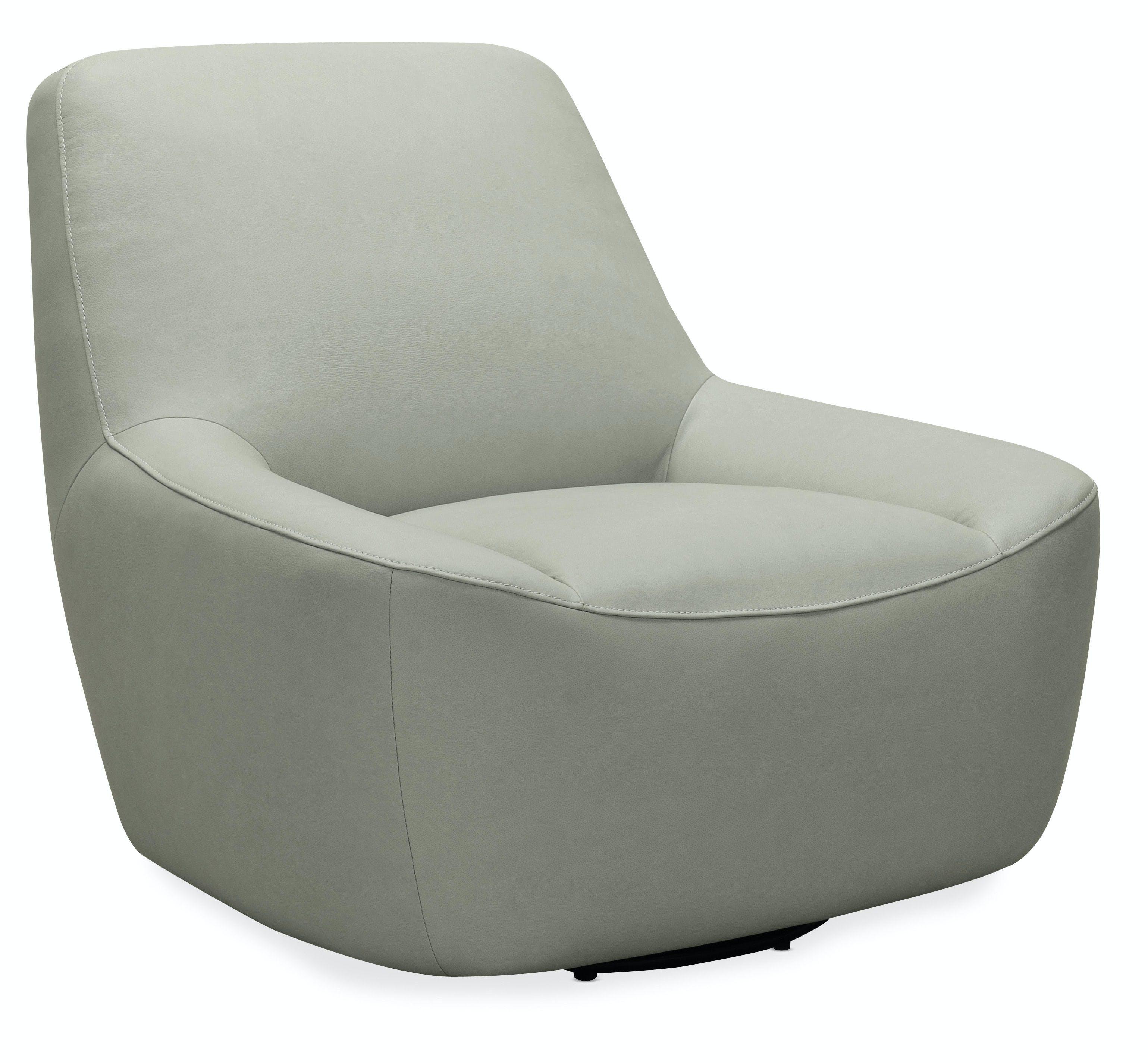 Hooker Furniture Living Room Maneuver Leather Swivel Chair