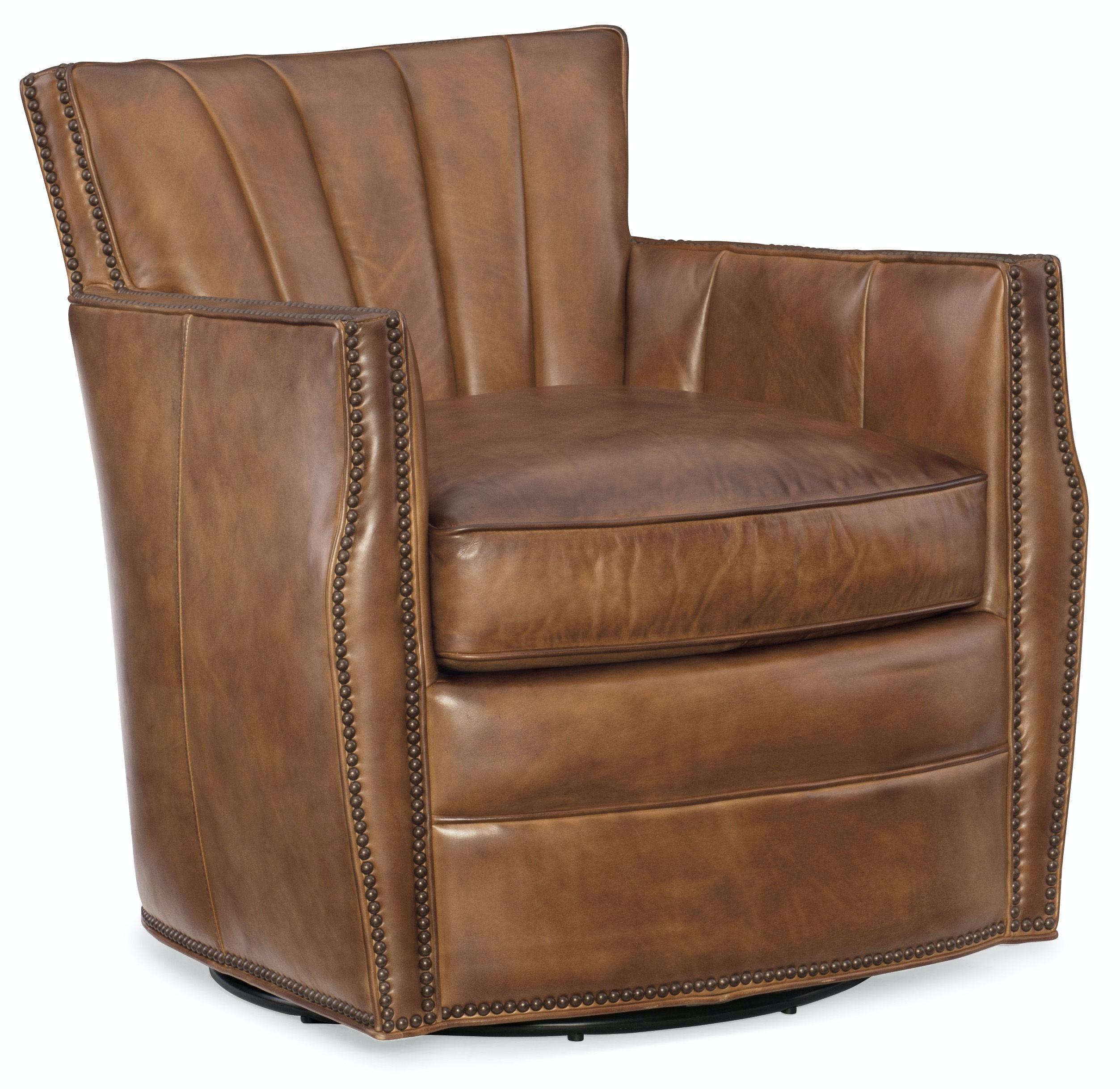 Carson Swivel Club Chair CC492-SW-083