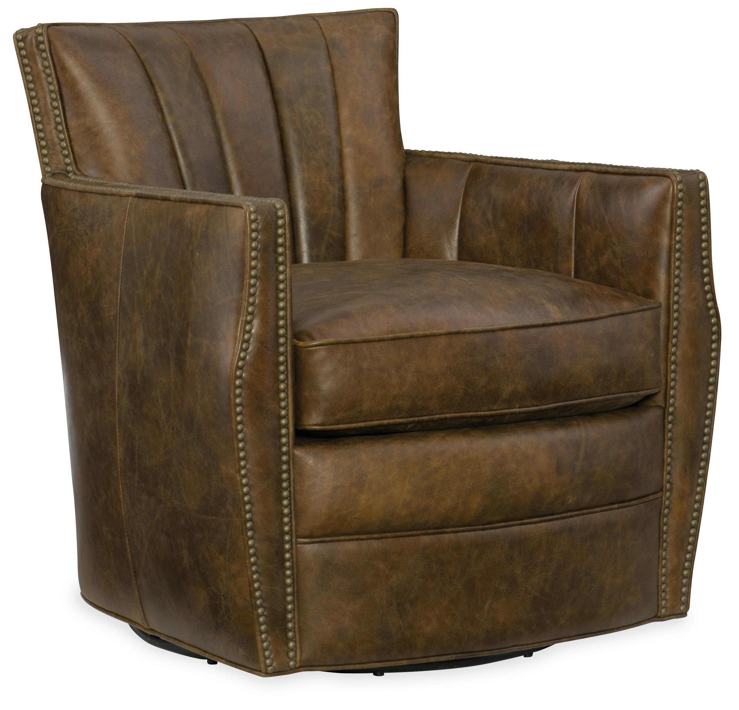 Carson Swivel Club Chair CC492-SW-085