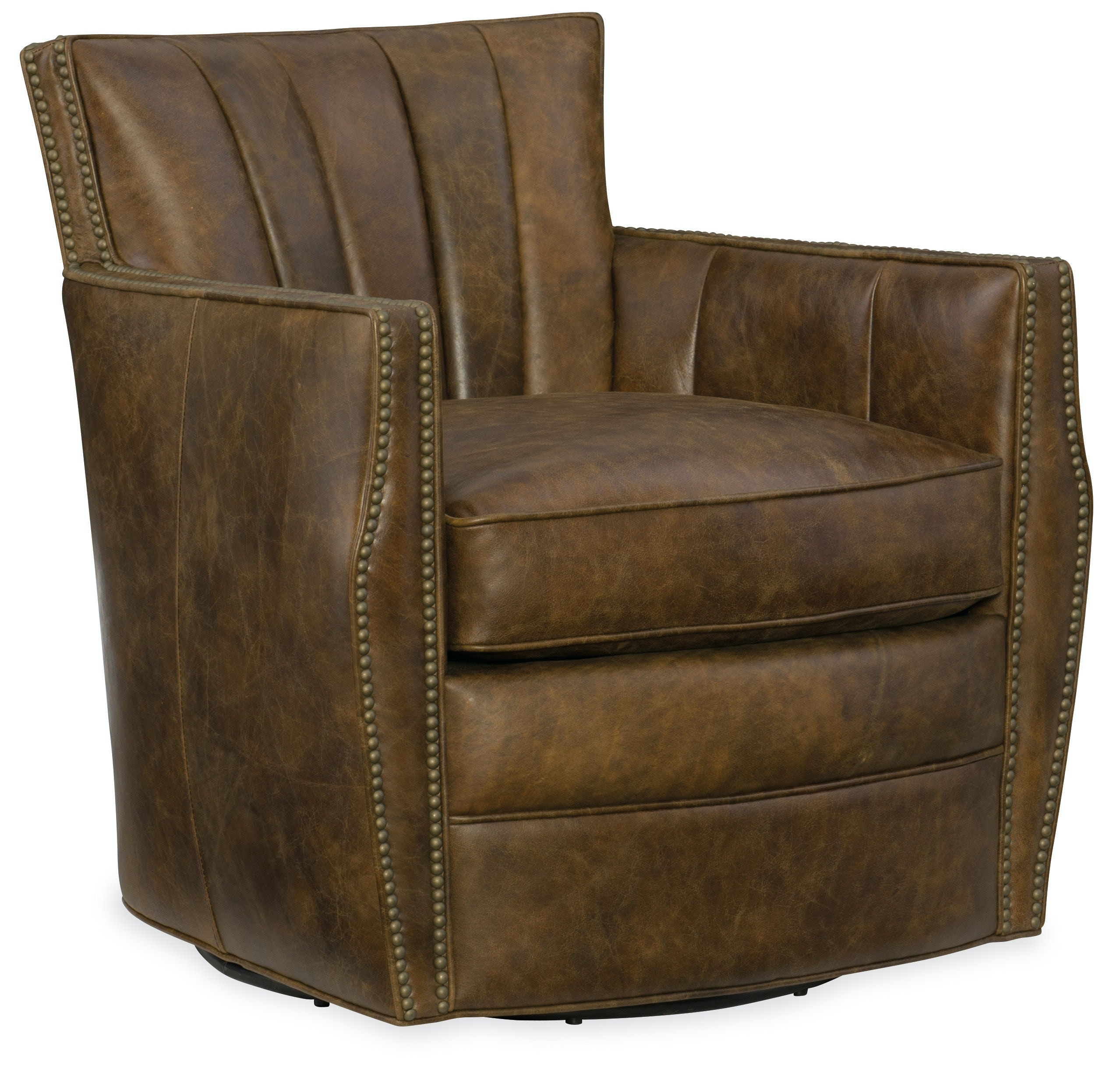 Gentil Hooker Furniture Carson Swivel Club Chair CC492 SW 085