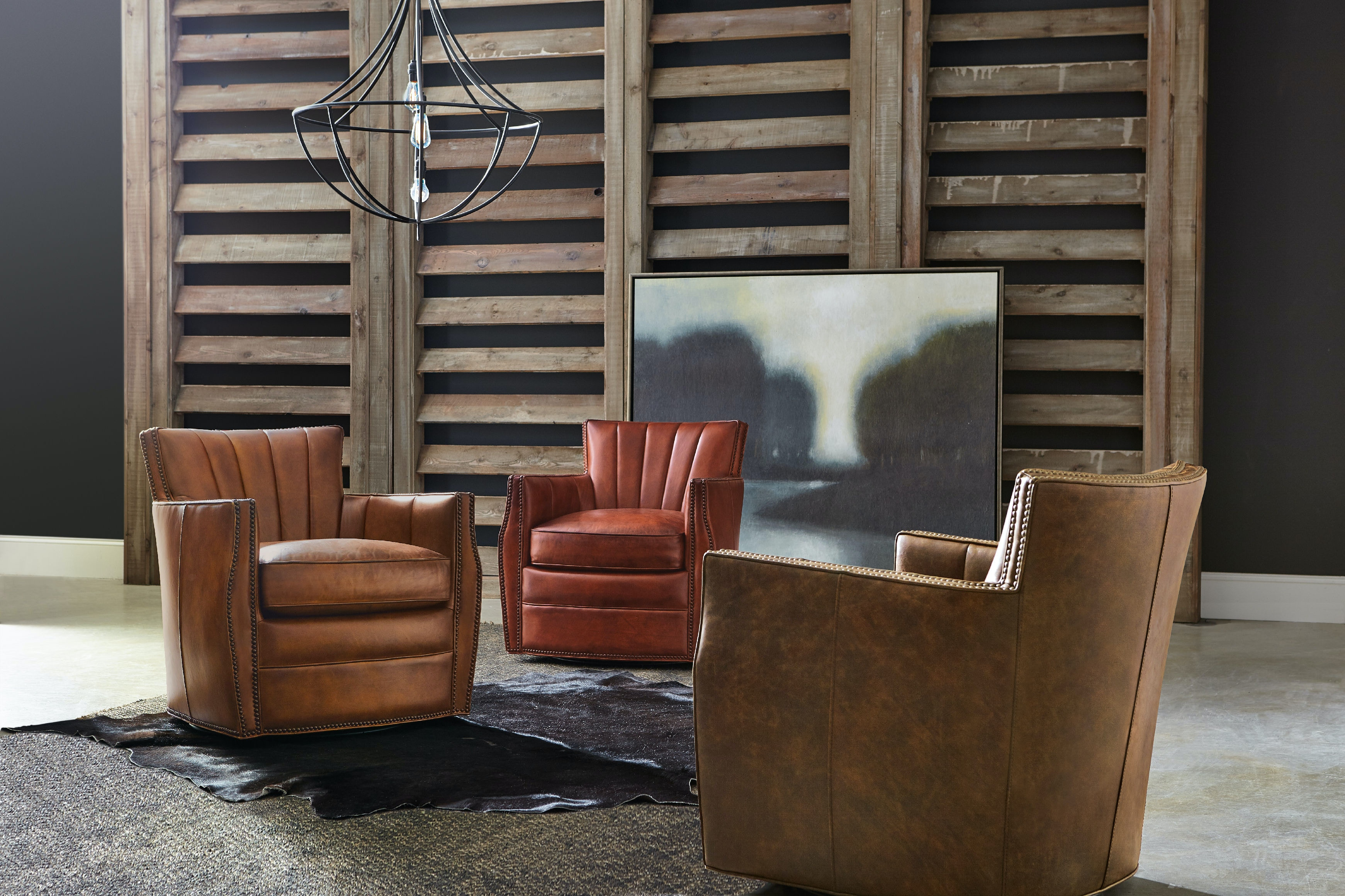 Swivel Club Chairs For Living Room Hooker Furniture Living Room Carson Swivel Club Chair Cc492 Sw 085