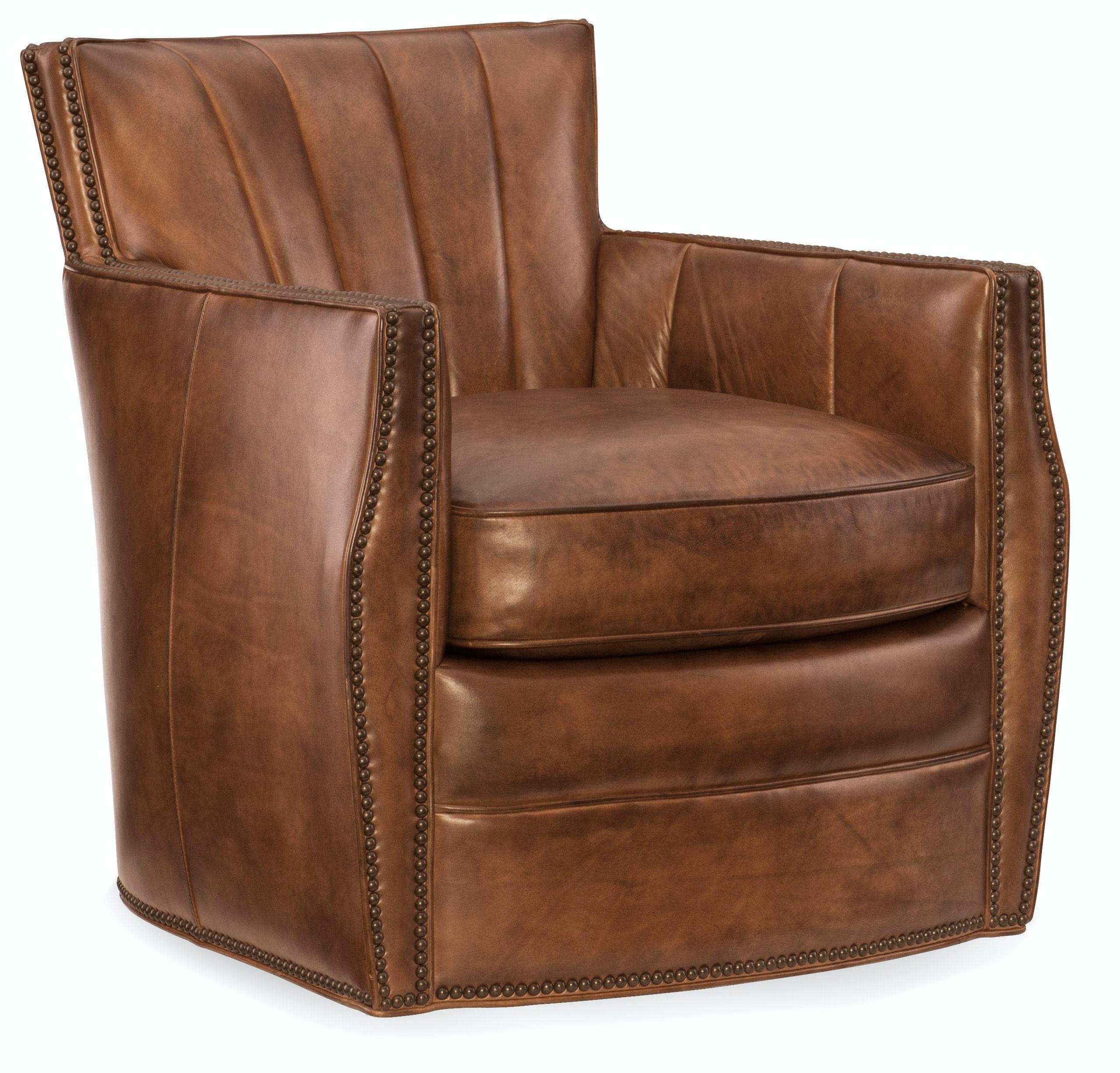 Carson Swivel Club Chair CC492-SW-086
