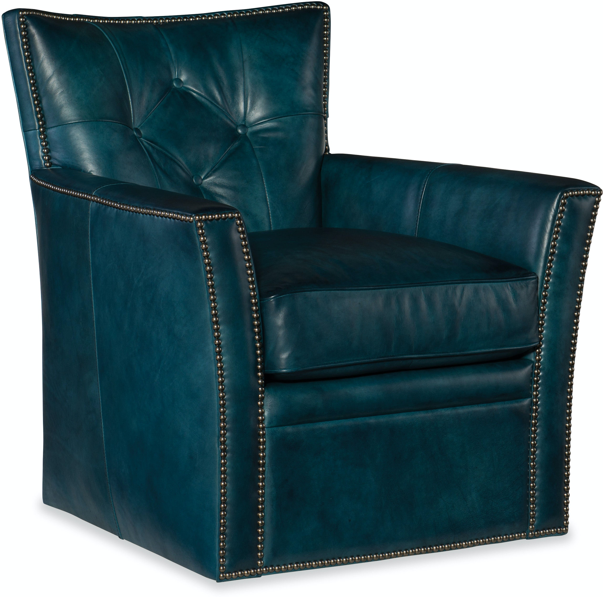 Hooker Furniture Living Room Conner Swivel Club Chair