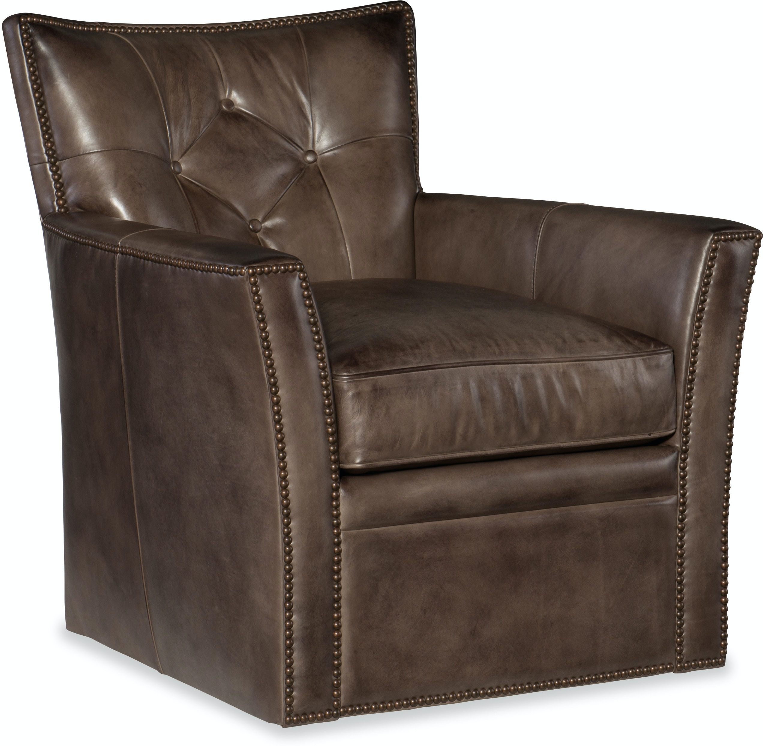 Hooker Furniture Living Room Conner Swivel Club Chair Cc503 Sw 095