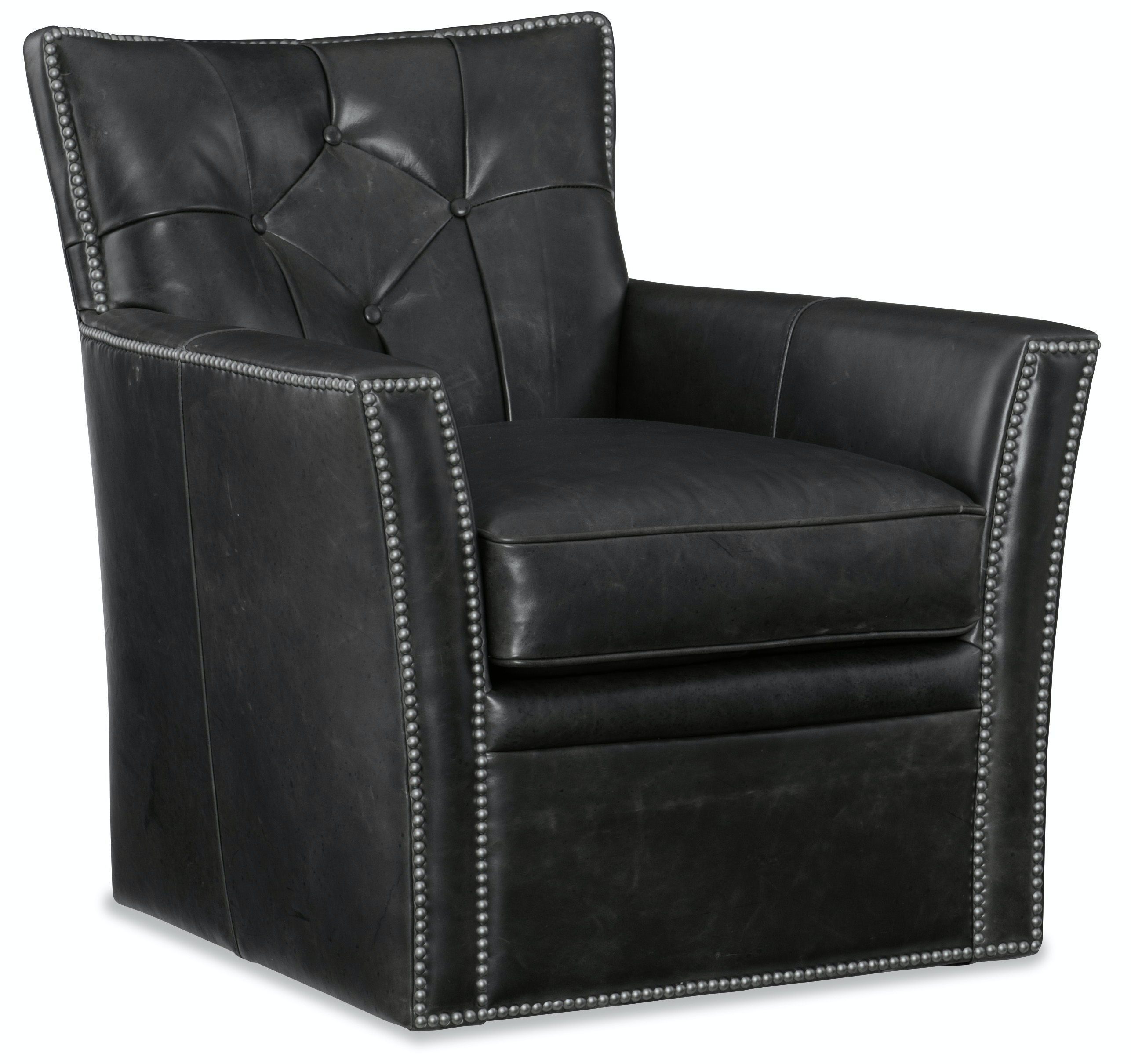 Hooker Furniture Conner Swivel Club Chair CC503-SW-096  sc 1 st  Hooker Furniture & Hooker Furniture Living Room Conner Swivel Club Chair CC503-SW-096