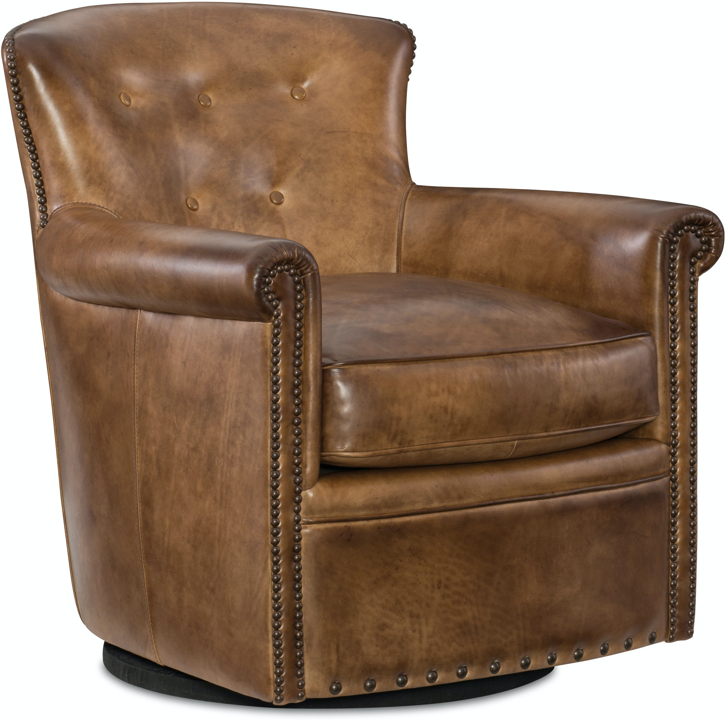 Hooker Furniture Living Room Jacob Swivel Club Chair Cc510 Sw 083