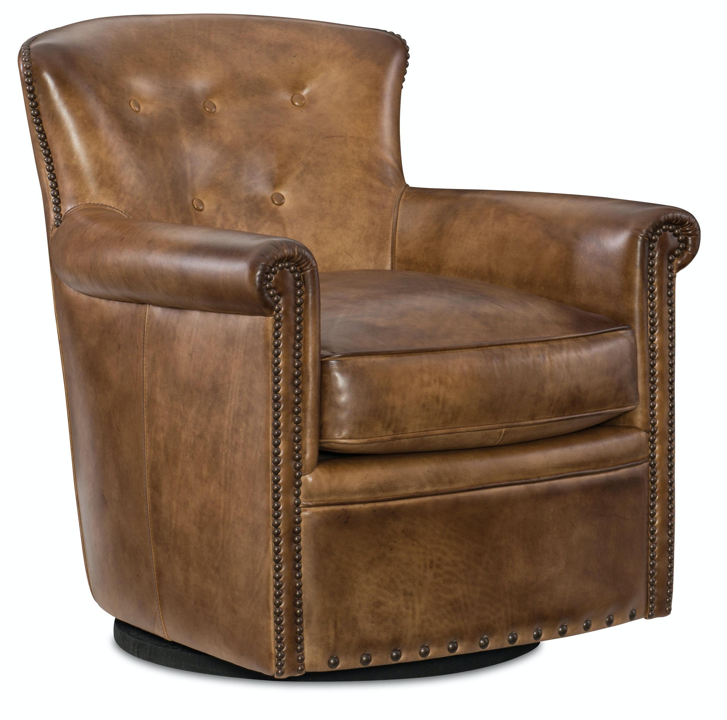 Hooker Furniture Jacob Swivel Club Chair CC510 SW 083