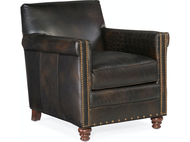 Hooker Furniture Living Room Potter Club Chair Cc719 01 089 Bacons Furniture Port