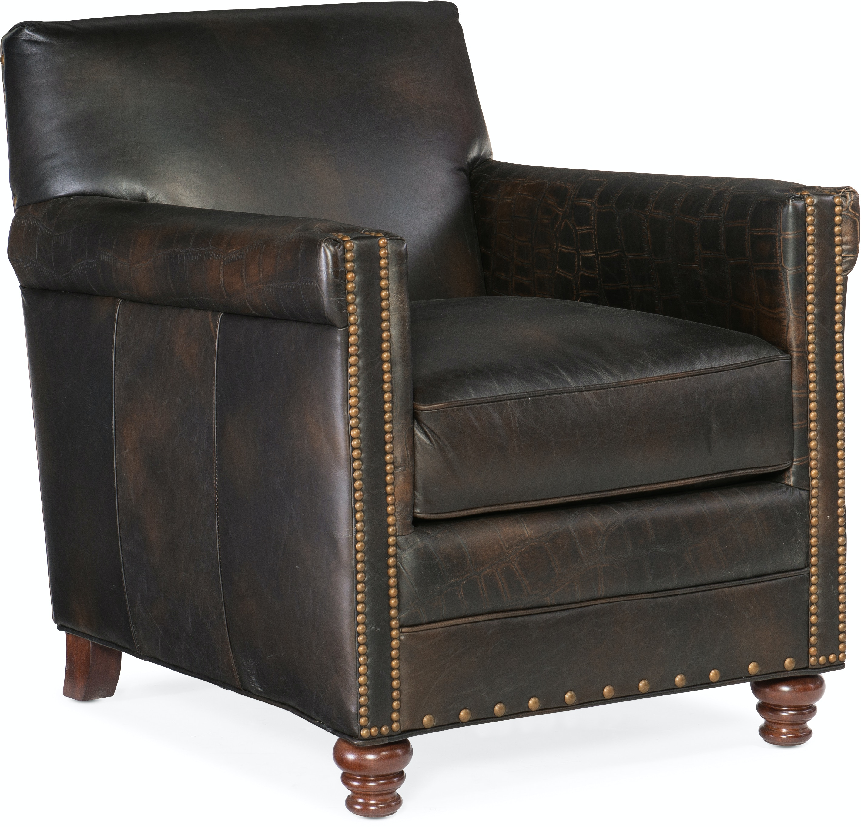 Hooker Furniture Living Room Potter Club Chair CC719 01 089