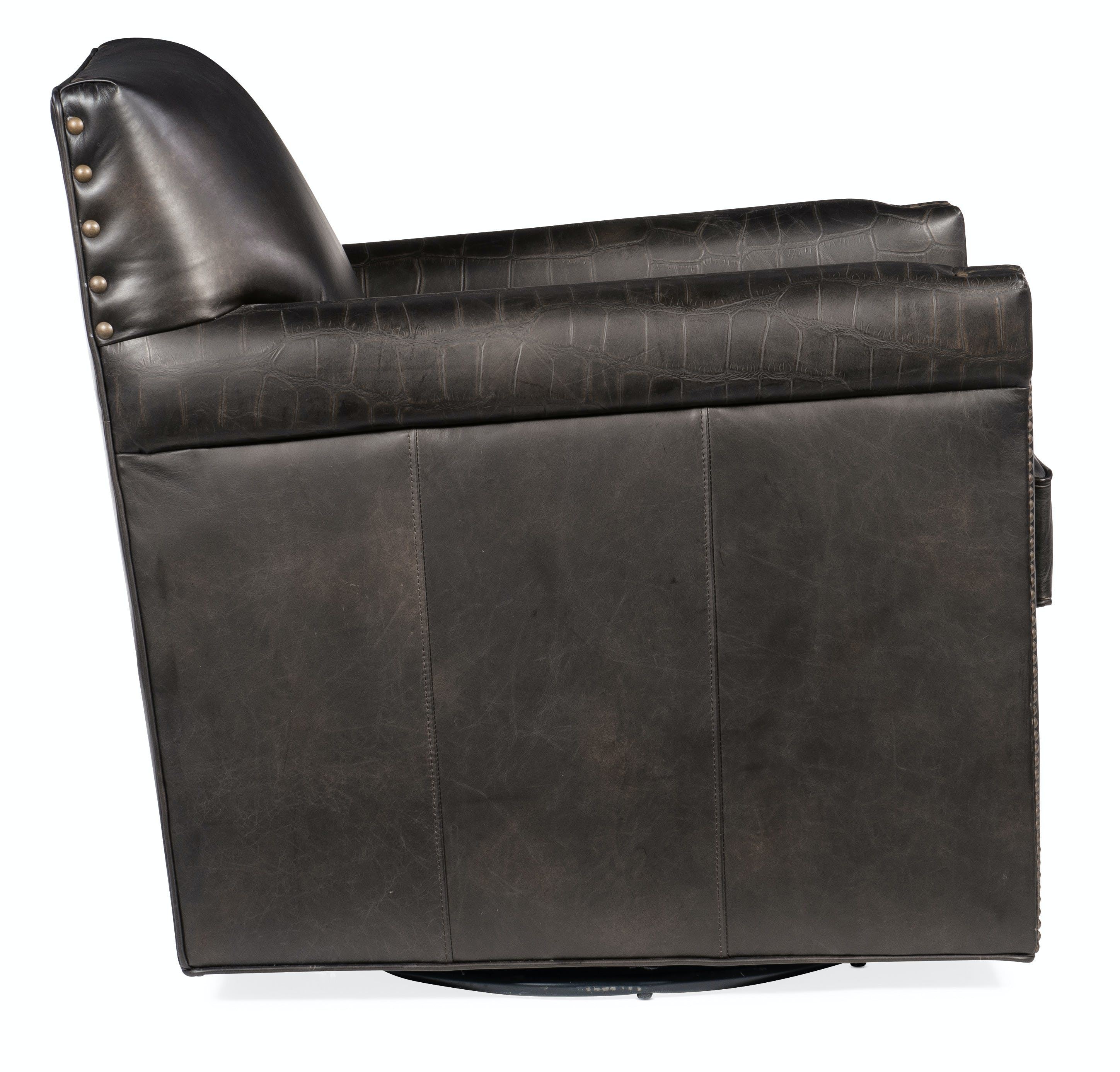 Picture of: Hooker Furniture Living Room Potter Swivel Club Chair Cc719 Sw 089