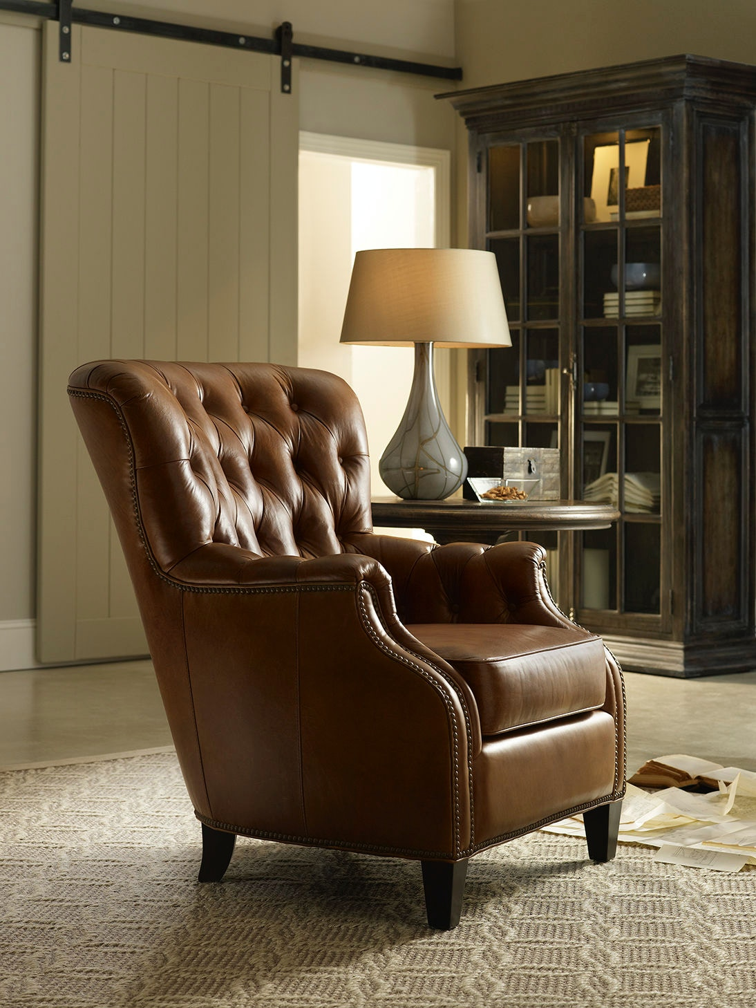 Living Room Club Chairs Hooker Furniture Living Room Hamrick Club Chair Cc860 01 084