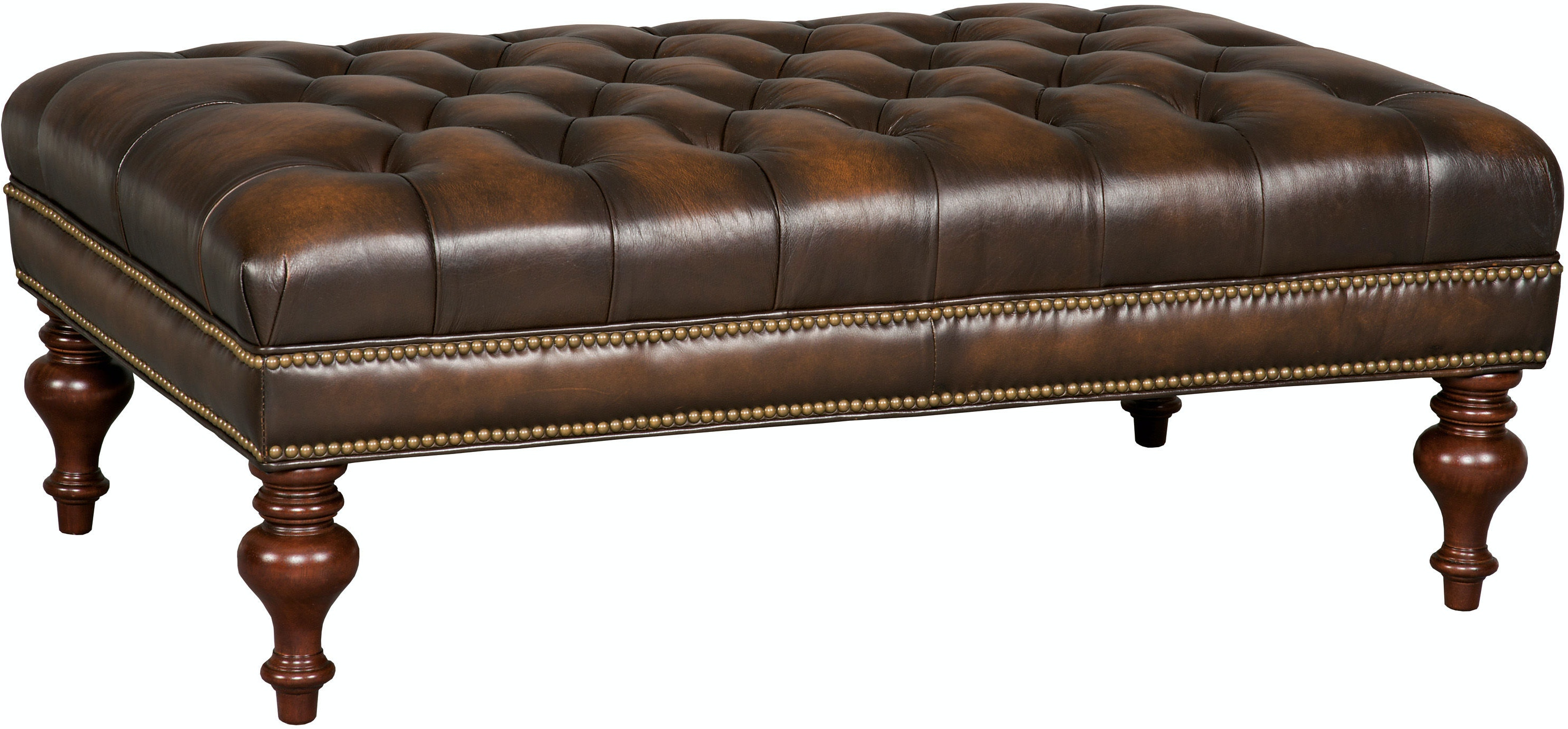 Hooker Furniture Living Room Kingley Cocktail Ottoman Co385 085