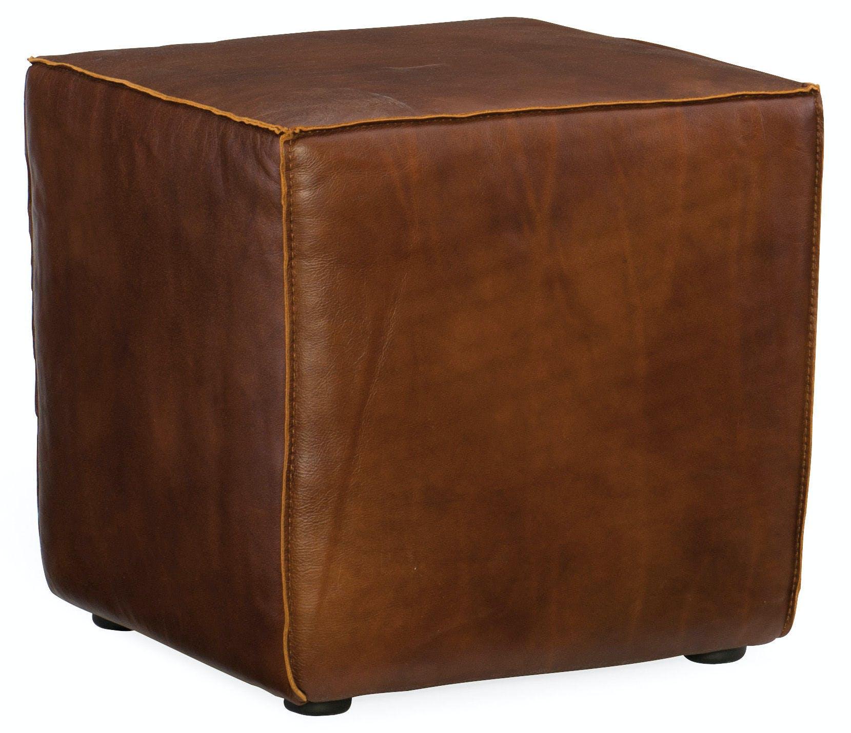 Hooker Furniture Living Room Quebert Cube Ottoman Co393 087