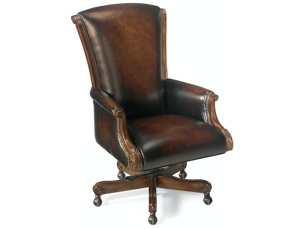Hooker Furniture Home Office Samuel Executive Swivel Tilt
