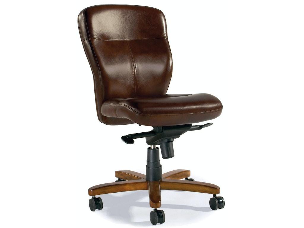 Hooker furniture home office sasha executive swivel tilt chair ec289 whitley furniture - Hooker home office furniture ...