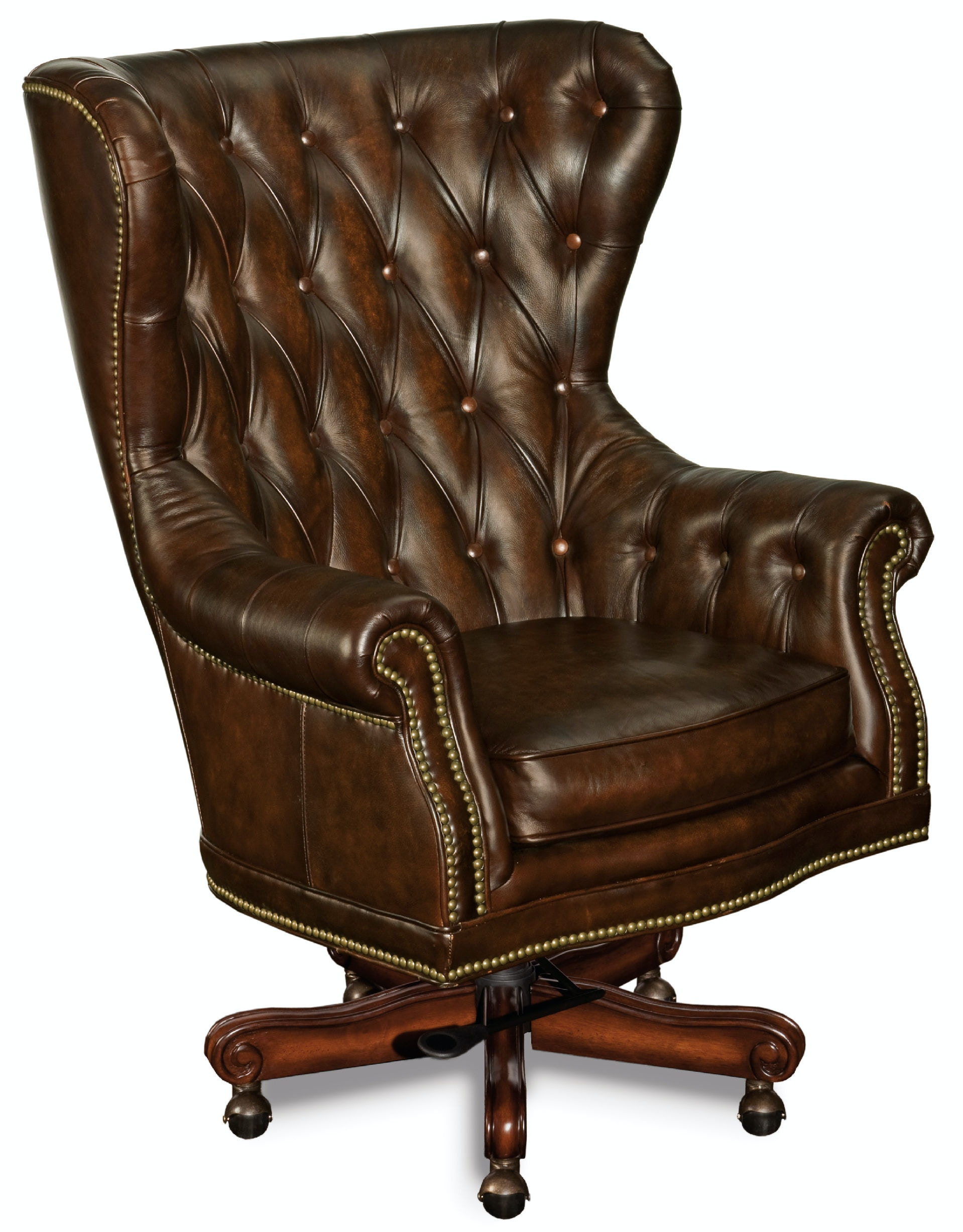 Hooker Furniture Erin Executive Swivel Tilt Chair EC362 201