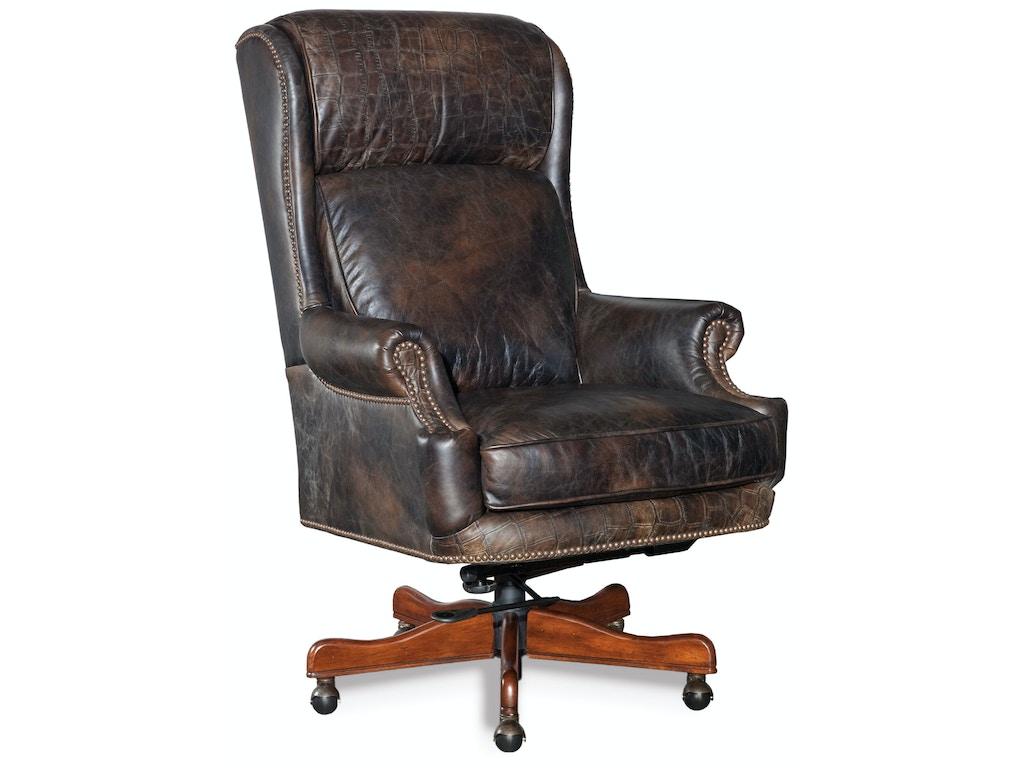 Hooker Furniture Home Office Tucker Executive Swivel Tilt