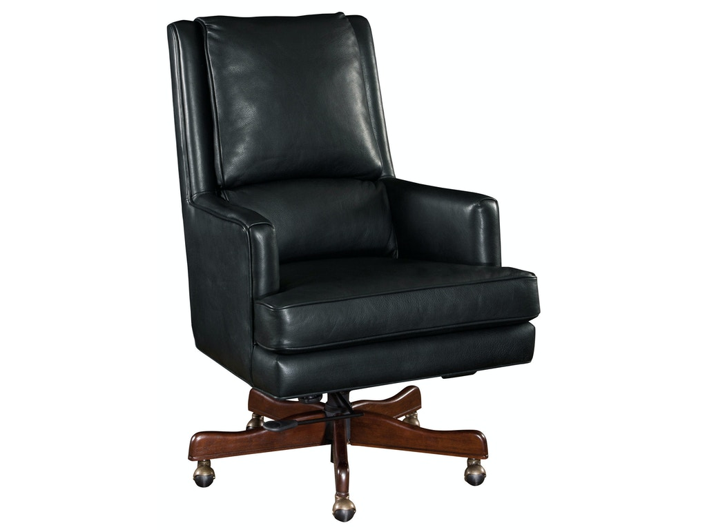 Hooker furniture home office wright executive swivel tilt for Affordable furniture lake charles la