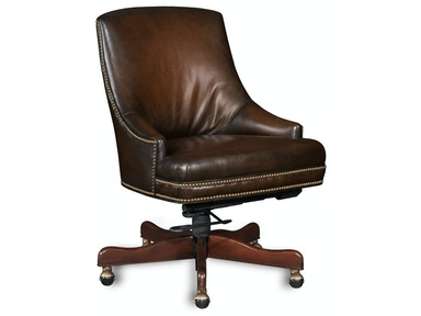 Hooker Furniture Heidi Executive Swivel Tilt Arm Chair EC403-085