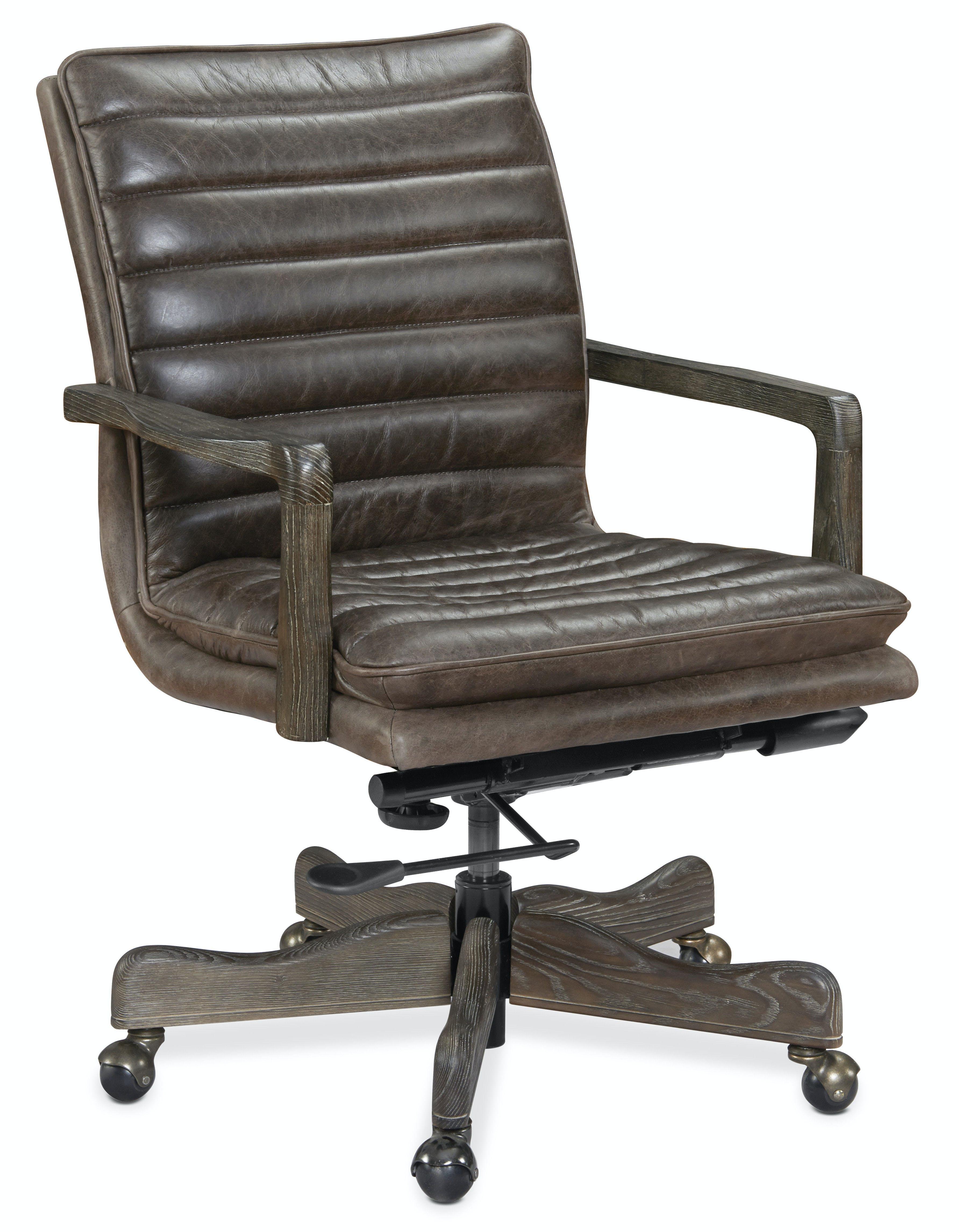 Hooker Furniture Home Office Langston Executive Swivel Tilt