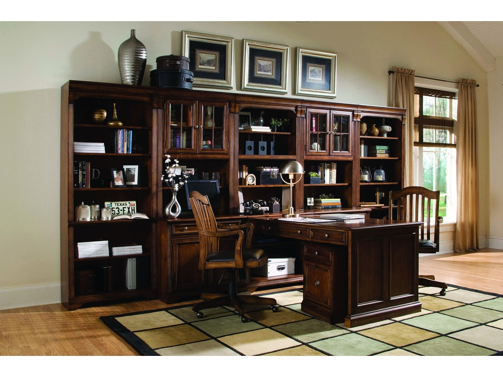 Hooker furniture home office brookhaven modular group ivy interiors salt lake city ut - Home office furniture salt lake city ...