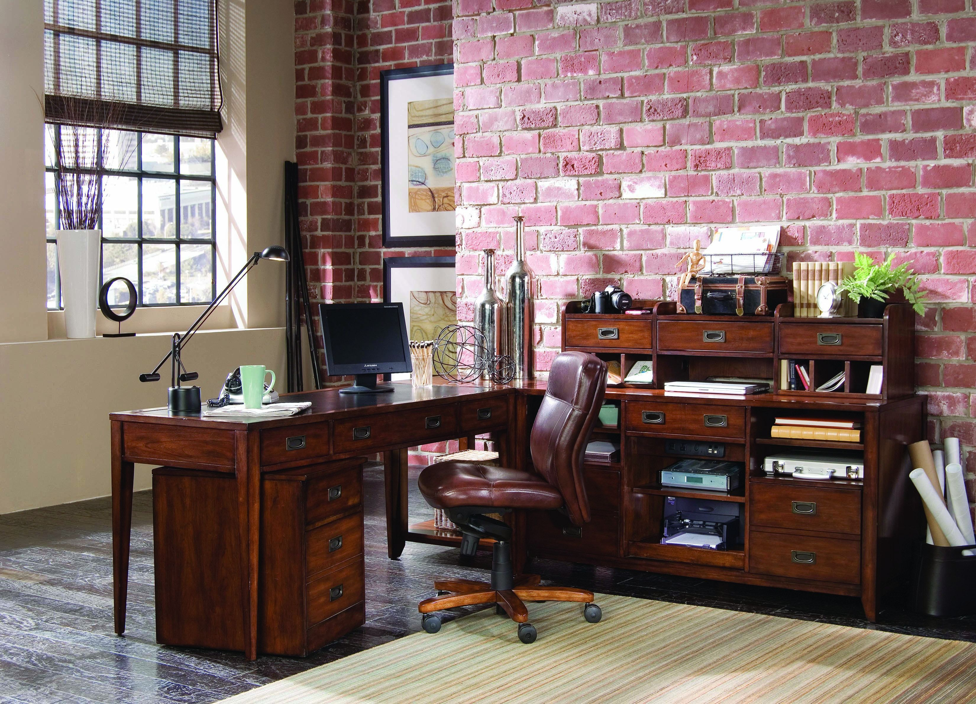 Hooker Furniture Home Office Office Wall System Danforth Modular Group