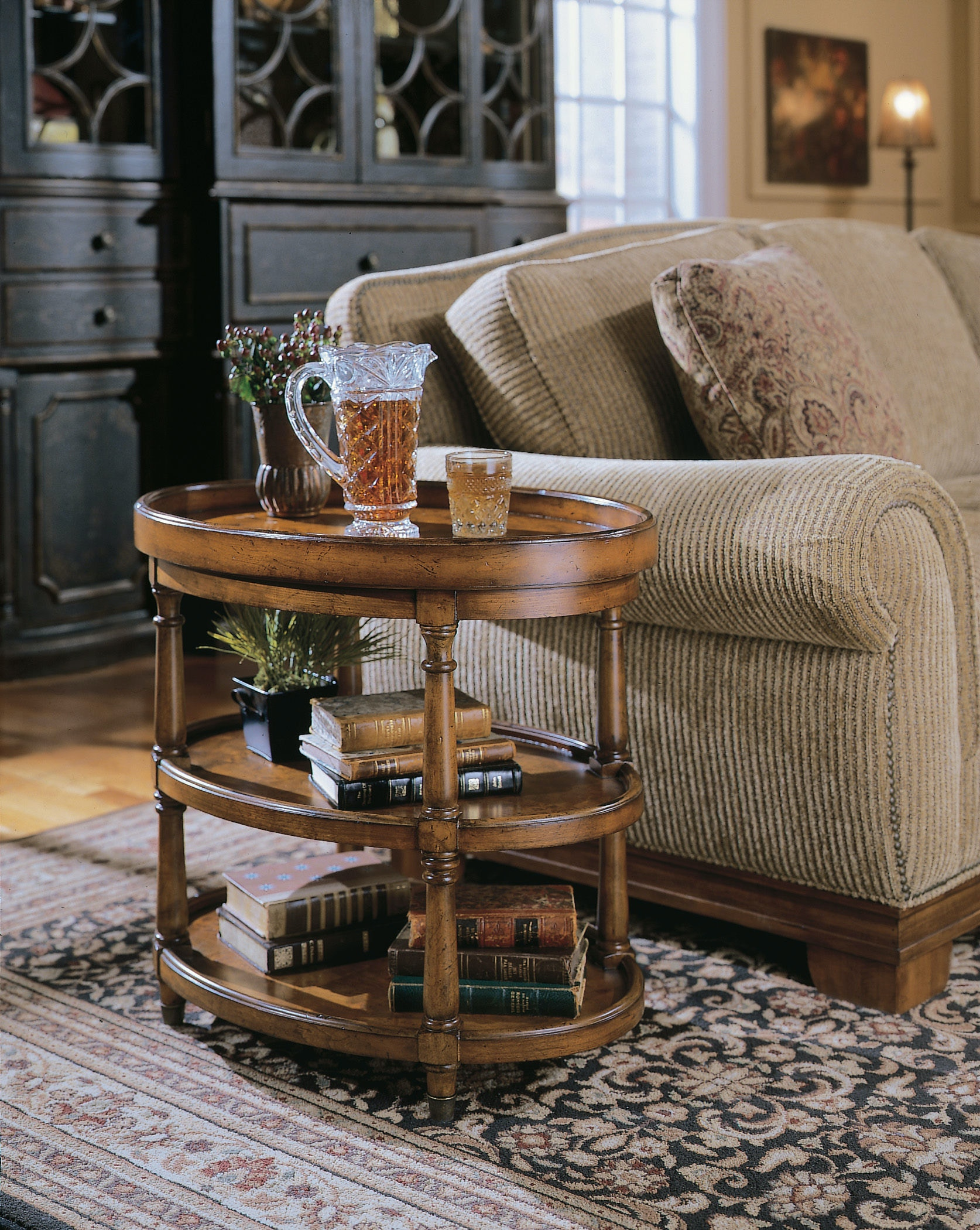 oval accent table hooker oval accent table 50050590 living room high country
