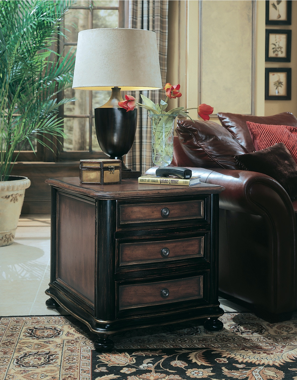 Hooker Furniture Preston Ridge Chairside Chest 864 80 149