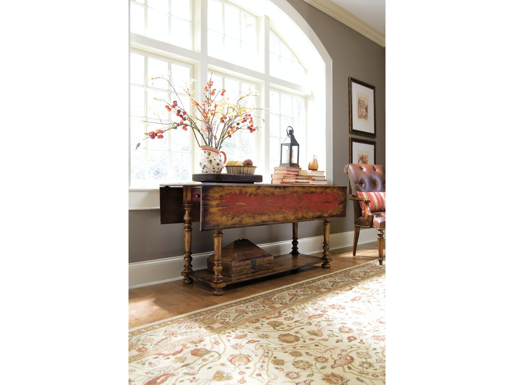 hooker furniture dining room vicenza drop leaf console. Black Bedroom Furniture Sets. Home Design Ideas