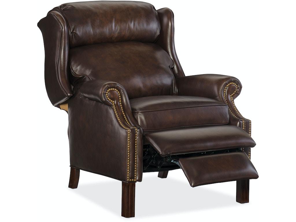 Hooker furniture living room finley recliner rc214 203 for Hooker furniture