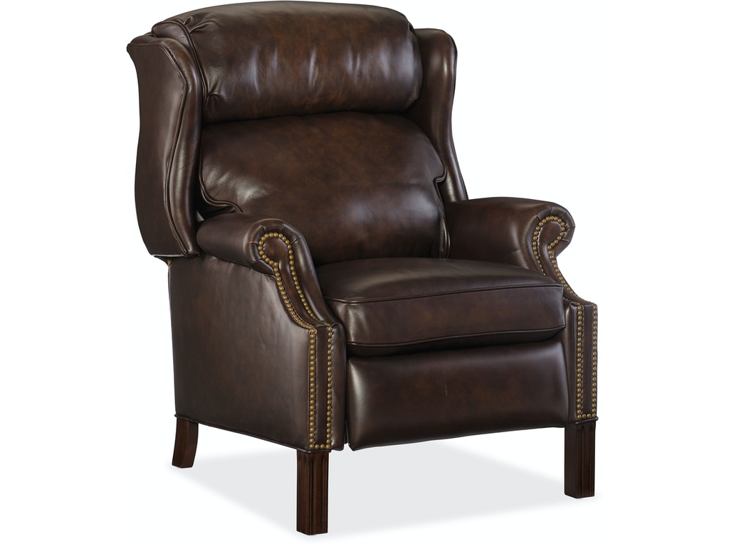 Hooker furniture living room finley recliner rc214 203 for Affordable furniture lake charles la