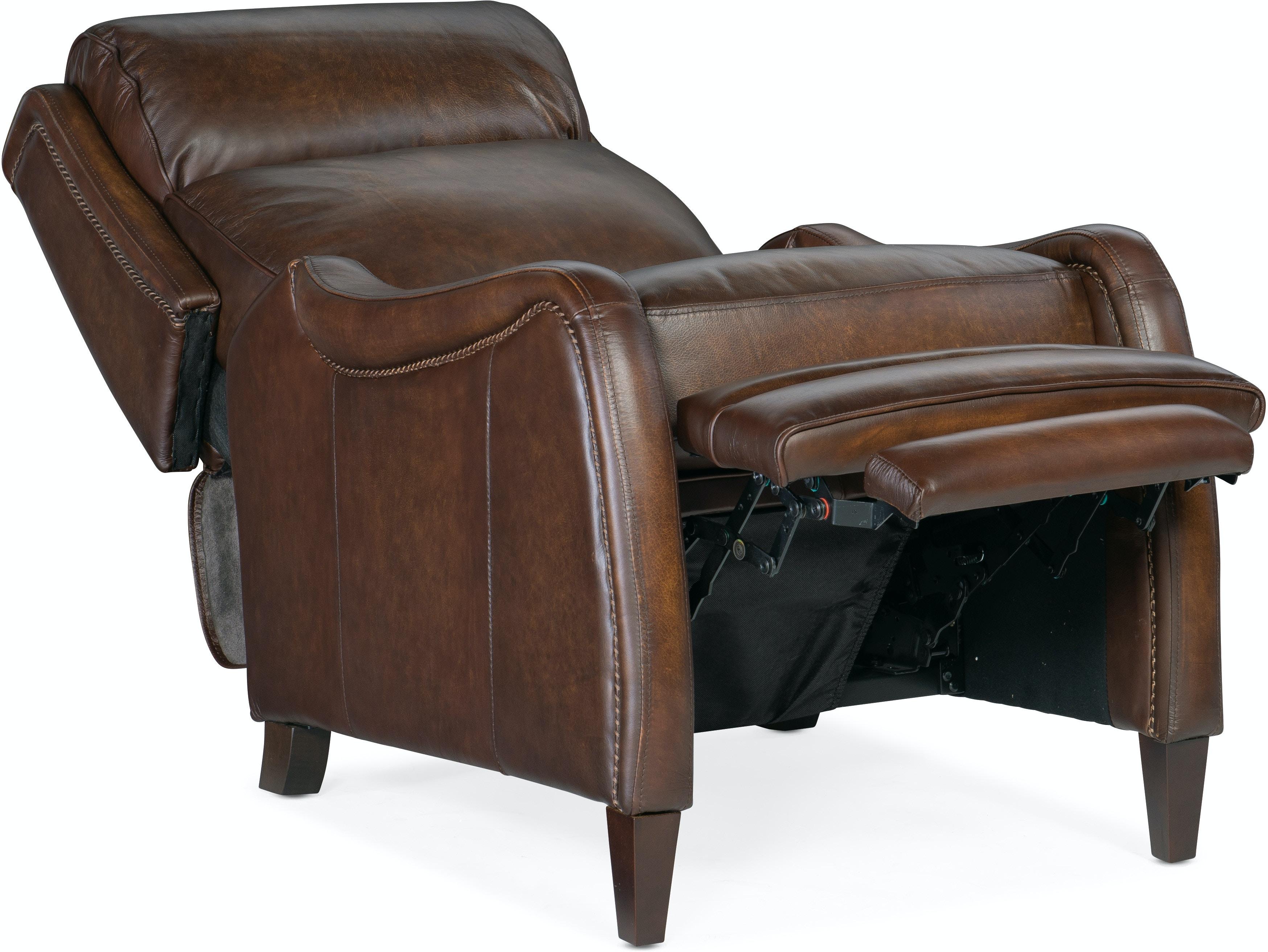 Hooker Furniture Living Room Stark Manual Push Back Recliner Rc234 Pb 087