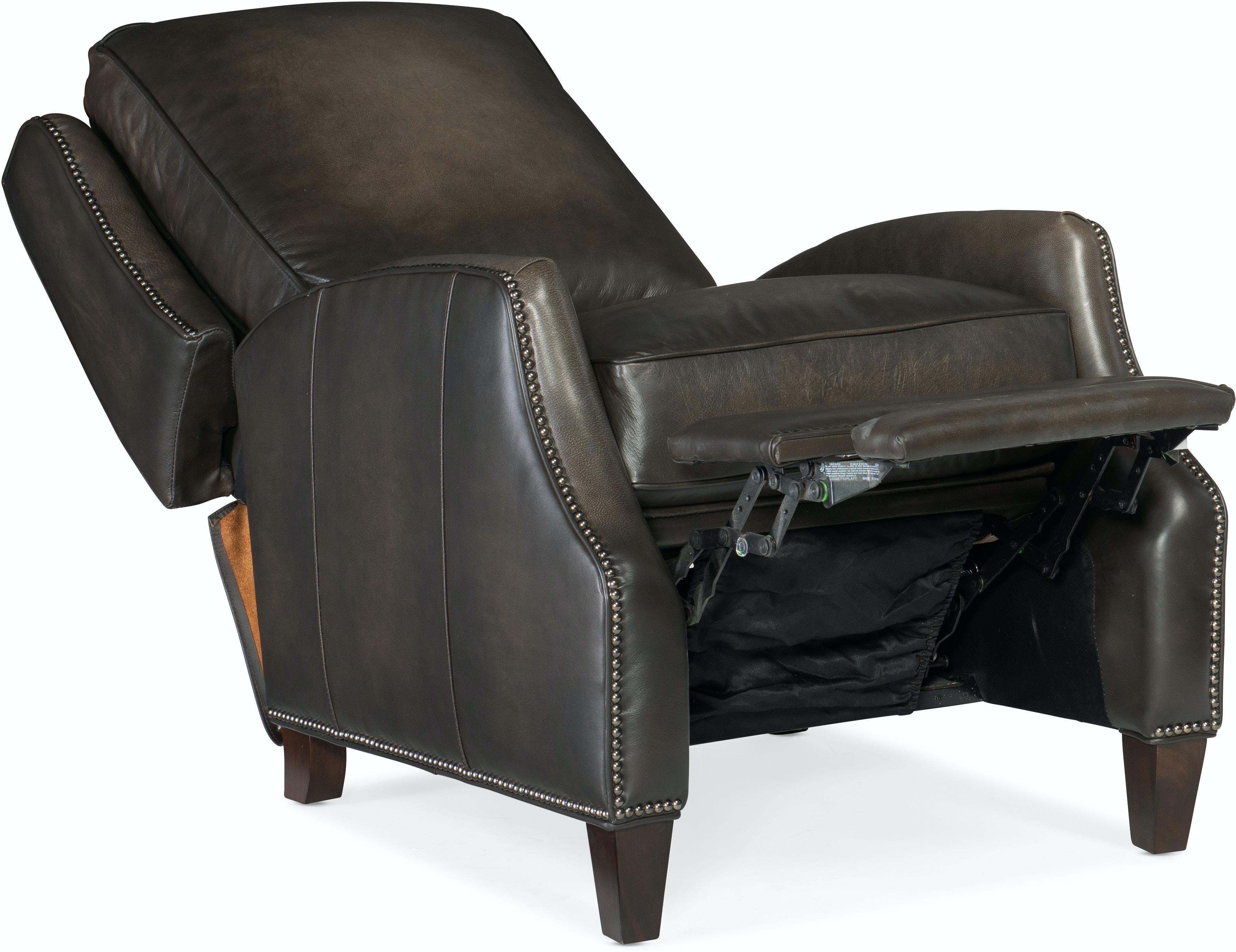 Hooker Furniture Living Room Kerley Manual Push Back Recliner Rc260 Pb 095