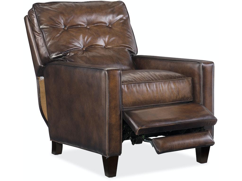 Hooker Furniture Living Room Barnes Recliner Rc274 086 Hickory Furniture Mart Hickory Nc