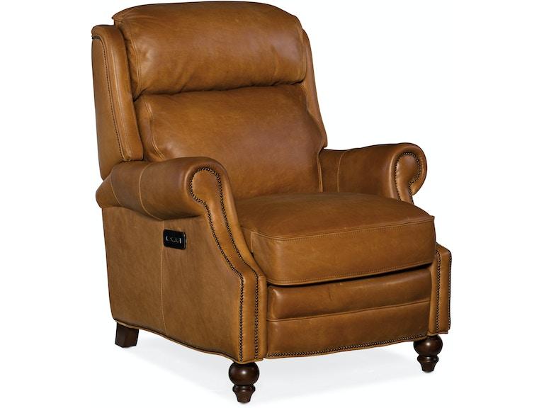 Pleasant Hooker Furniture Living Room Fifer Power Recliner W Power Gamerscity Chair Design For Home Gamerscityorg
