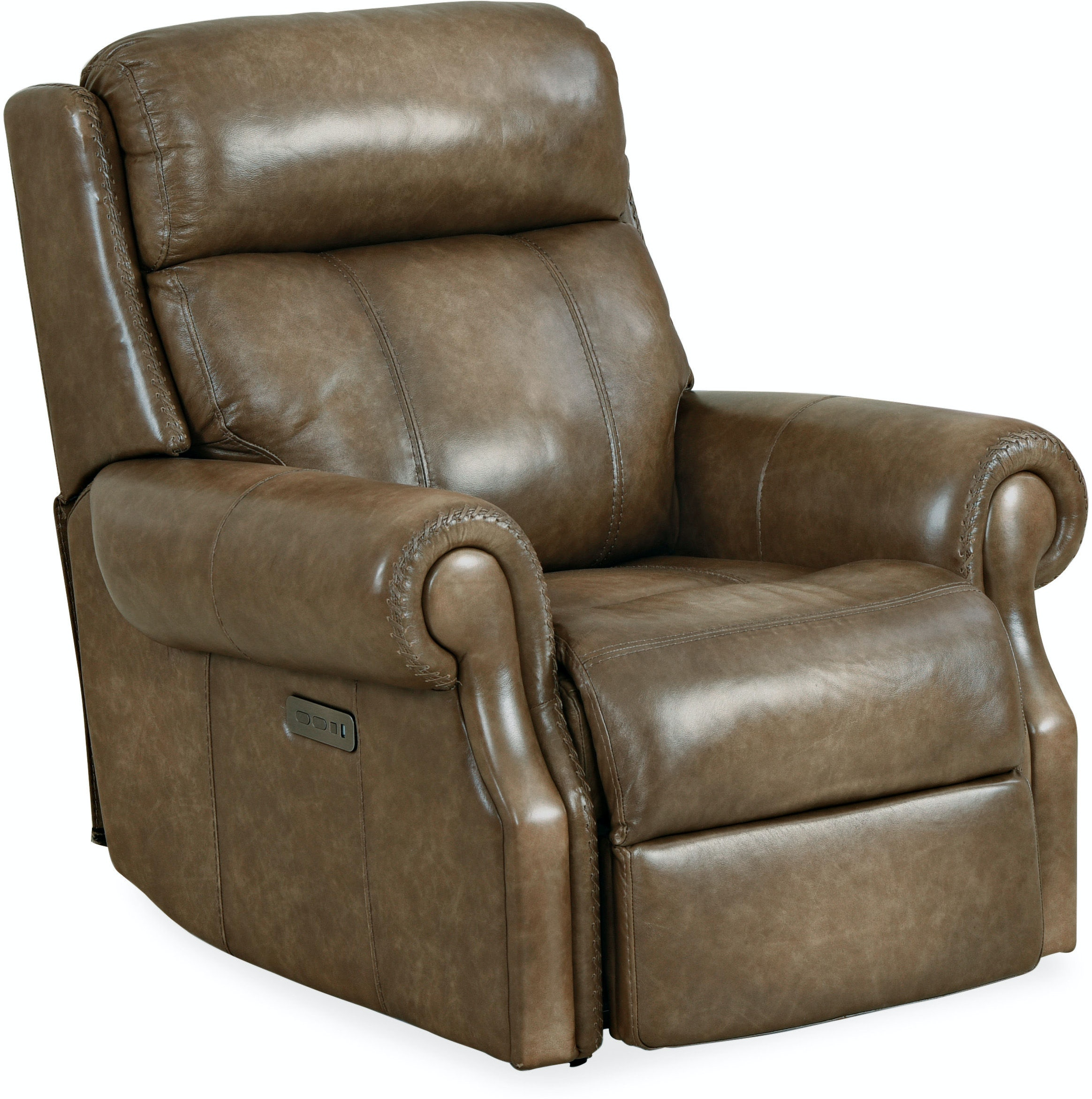 Outstanding Hooker Furniture Living Room Brooks Pwr Recliner W Pwr Pabps2019 Chair Design Images Pabps2019Com