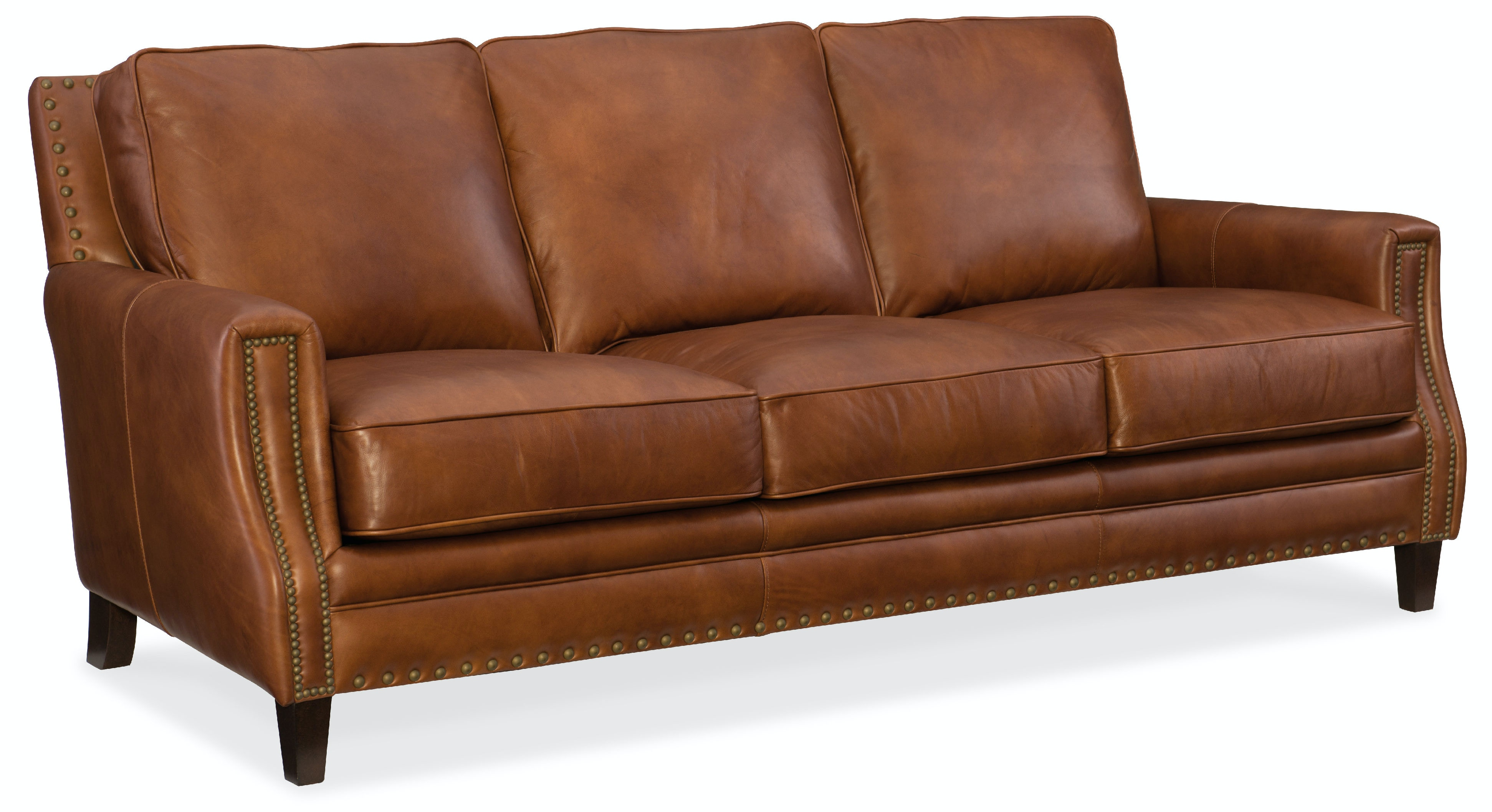 Hooker Furniture Living Room Exton Stationary Sofa SS387 03 087 At Meg Brown  Home Furnishings